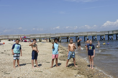 Campers at Seven Presidents Oceanfront Park