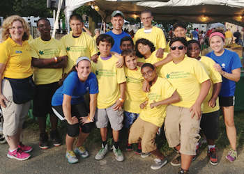 Urban Rec participants thank Friends for great time at the Monmouth County Fair.