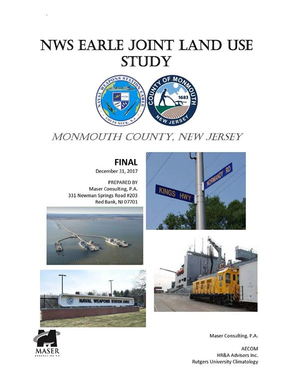 NWS Earle Land Use Study for Naval Weapons Station Earle