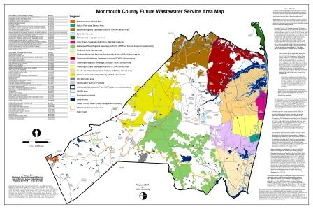 Future Waste Water service area map cover